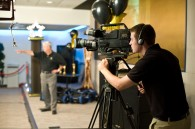 Corporate video production event