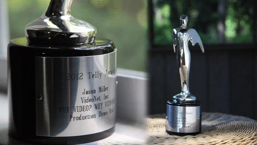 Corporate Video Producer | Jason Miller's 2012 Telly Award