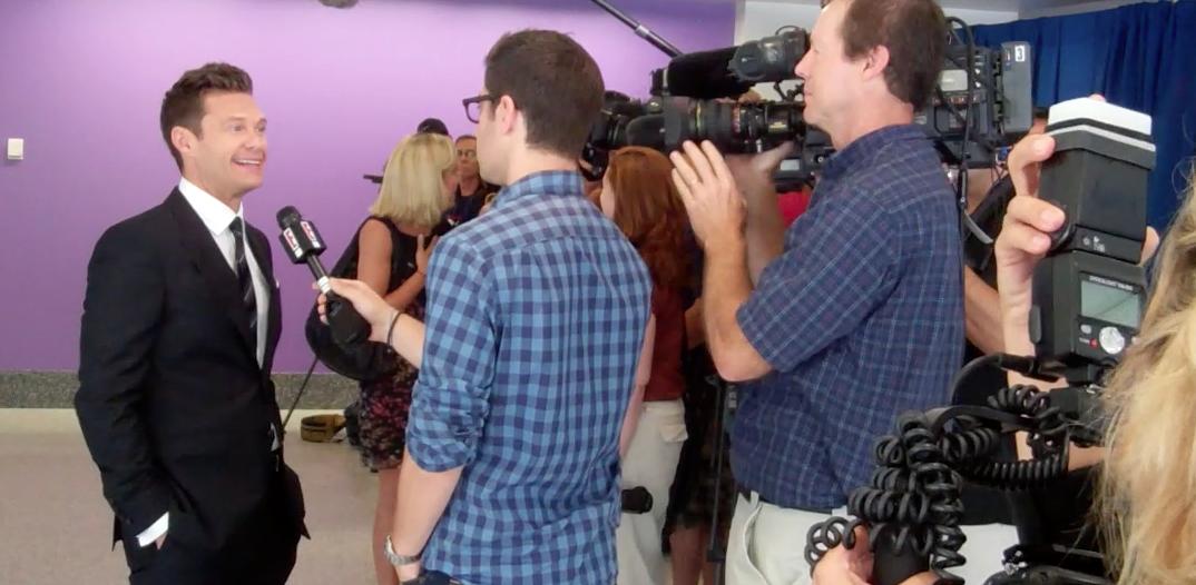 Corporate Video Production | VideoNet crew interviews Ryan Seacrest