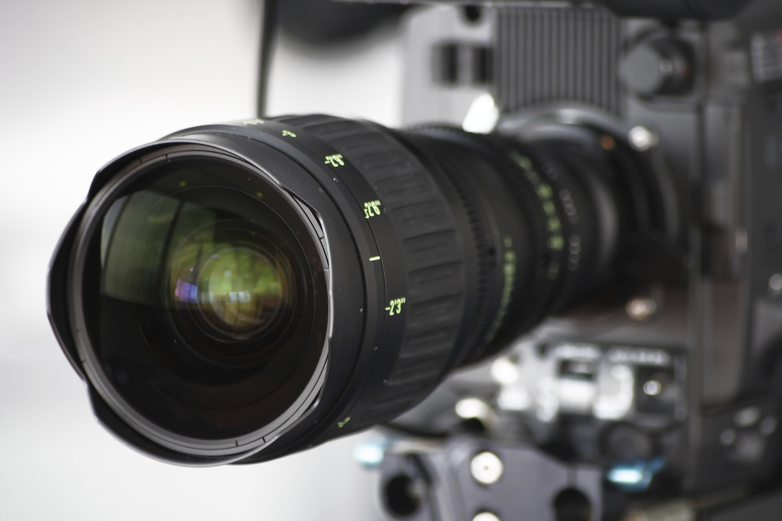 Corporate Video Production Camera Lens