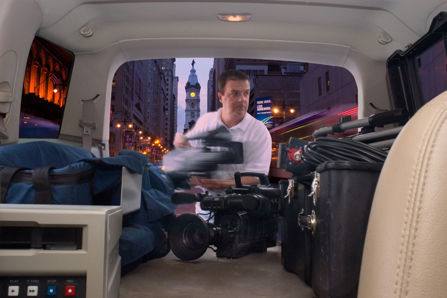 Great Corporate Video Camera man